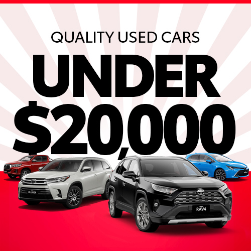 Quality Used Cars Under 20000